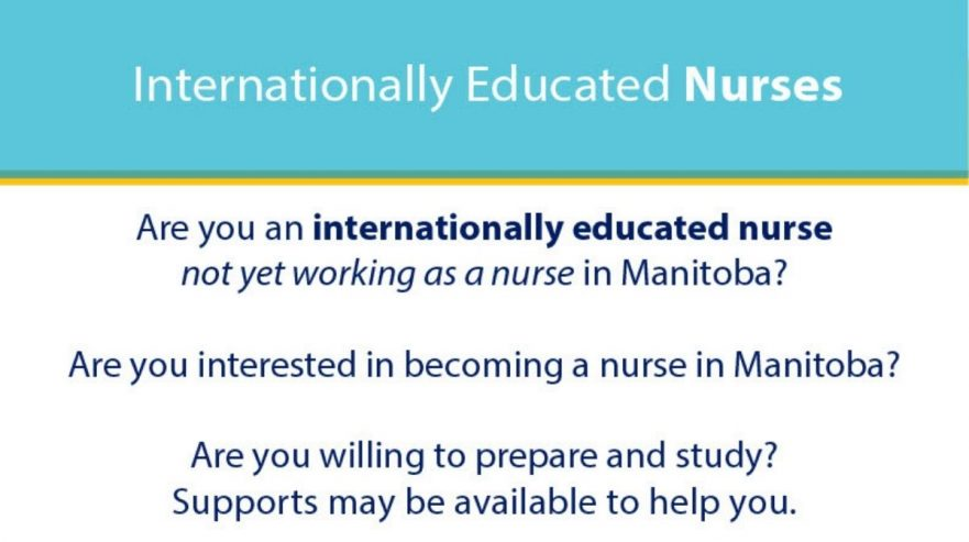 Support for Internationally Educated Nurses
