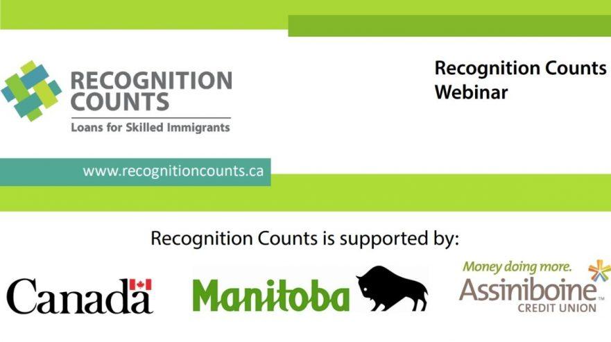 Recognition Counts' Loan Webinar