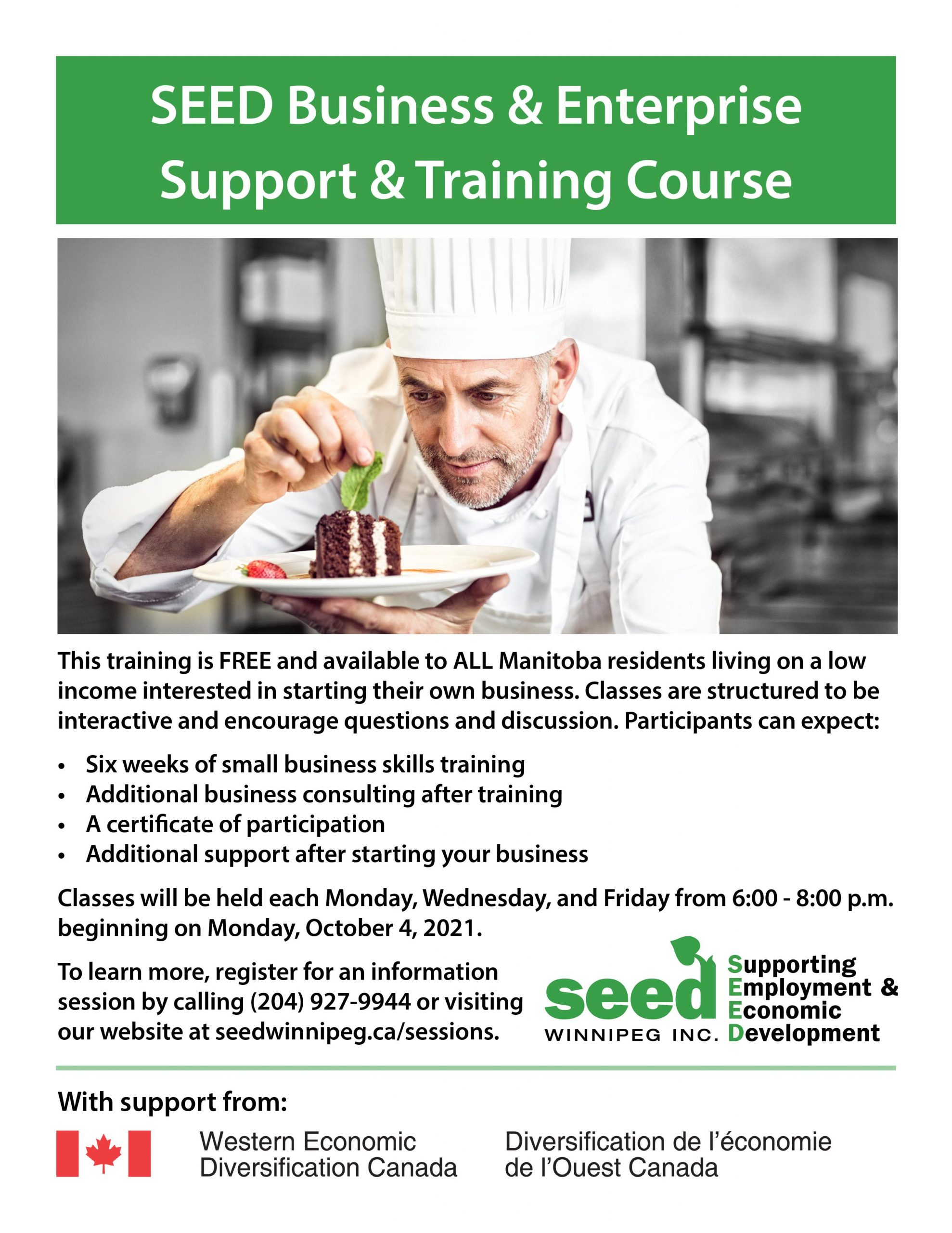 SEED business & enterprise support & training course
