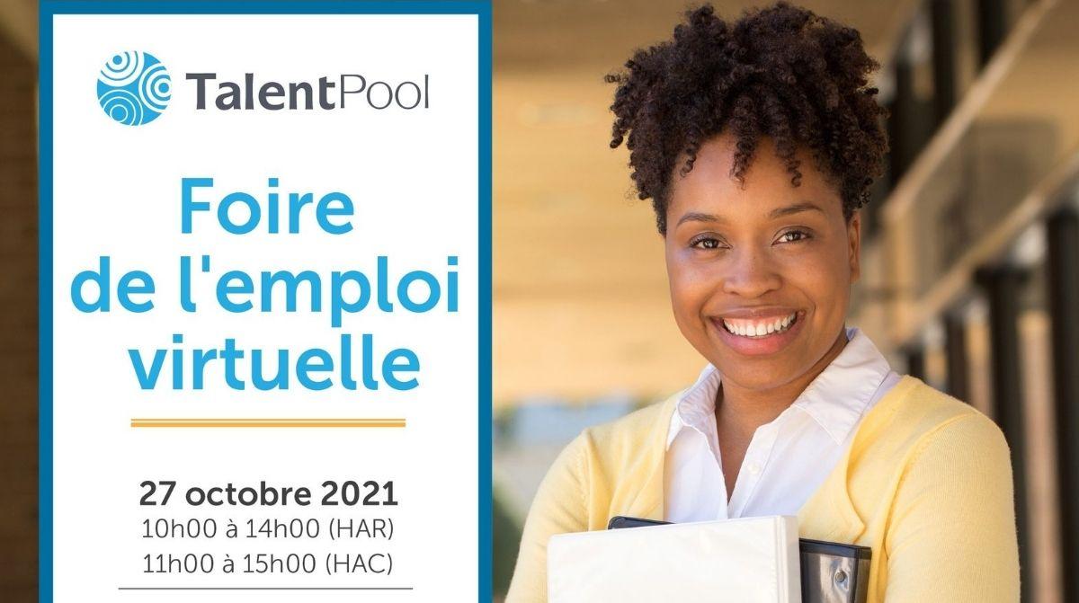 """Featured image for """"Foire de le'emploi virtuelle"""""""